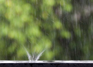 água da chuva é pura